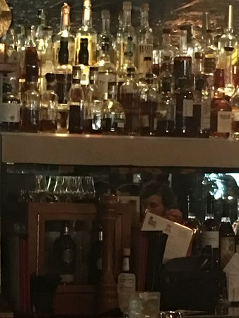 This bar goes on forever! Couldn't fit it in one photo.