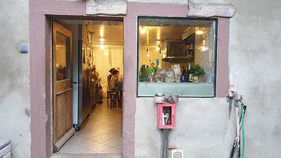 La Porte De La Cuisine Picture Of Ferme Auberge Entzenbach