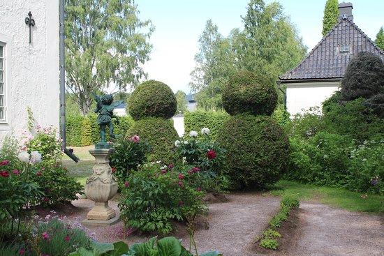 zicht op tuin