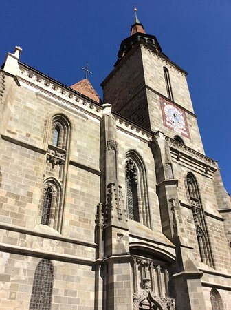 Black Church (Biserica Neagra): Outside view