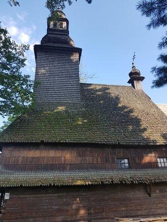Kolochava, ยูเครน: Starý kostel v Kolochavě. Ukrývá mnohé, co je zajímavé zejména pro Čechy