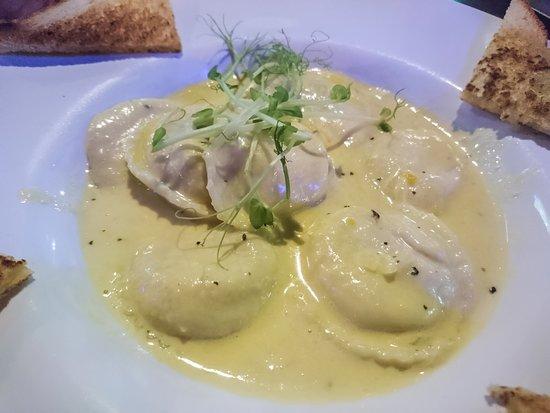 Pasta salsa blanca