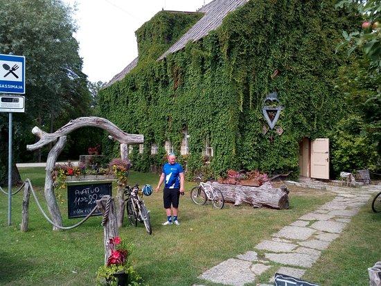 Leisi, Estland: Sassi  restaurant