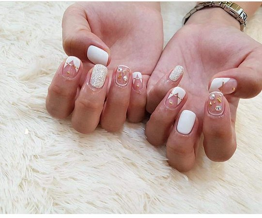 A Nails Luxury Boutique: Don't be afraid because your nails are small and can't be designed well. Please trust us, with us nothing is impossible