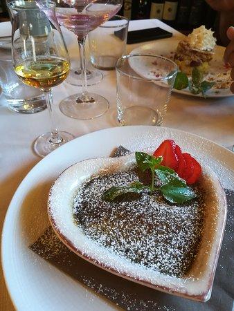 Il Balivo: Creme brulee al pistacchio