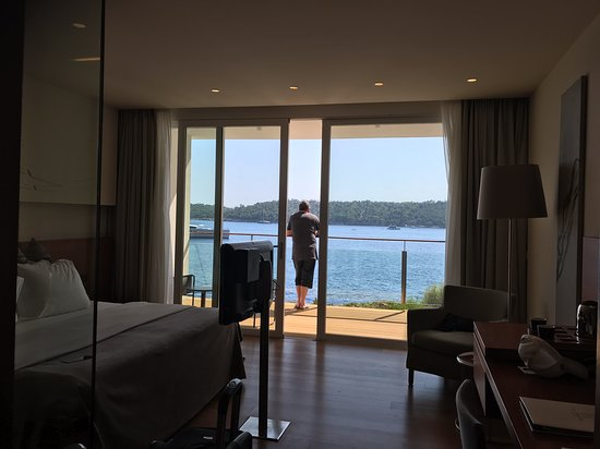 Villa Dubrovnik: Room with a view.