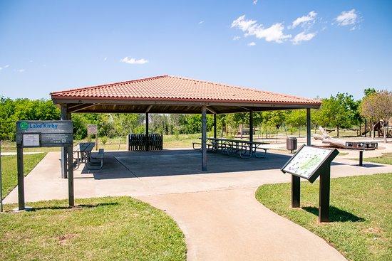 Lake Kirby Nature Park Area in Abilene, Texas