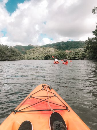 The gorgeous Wailua River