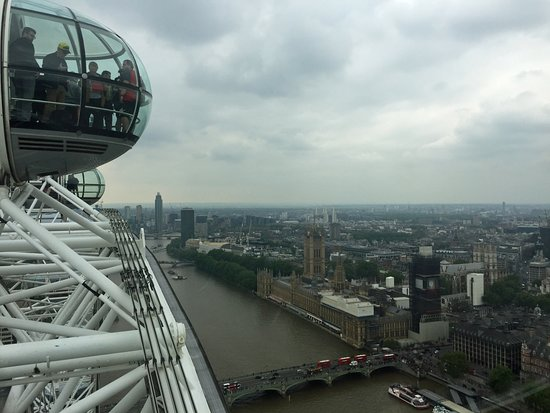 London Eye Standard Ticket: View from the top.