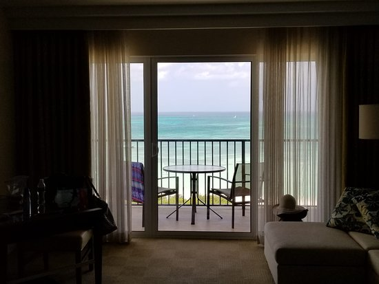 The Ritz-Carlton, Aruba: View from our room