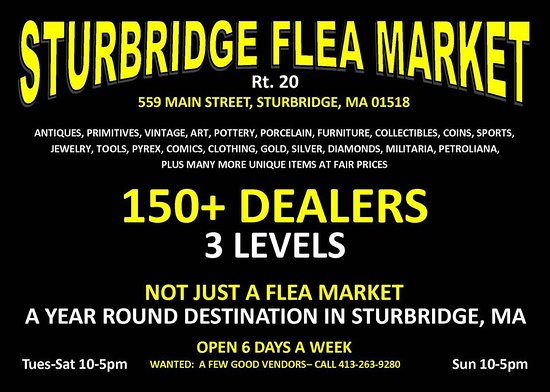 Sturbridge Flea Market