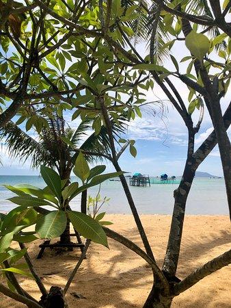 Beachfront rooms view across Cambodia shorelines