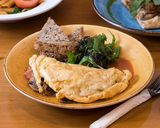 Raw Power Cafe: Omelette