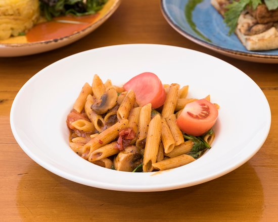 Raw Power Cafe: The Penne Pasta