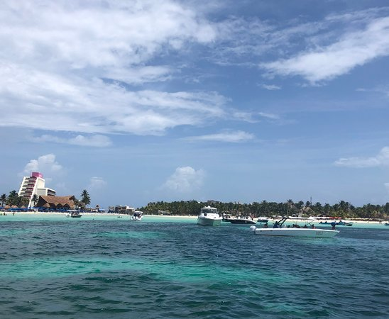 Isla Mujeres Unlimited Snorkel: View of Play Norte