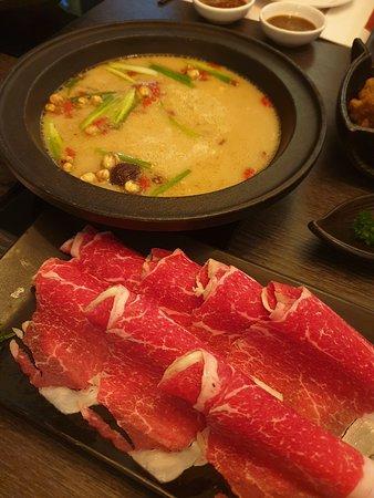 Wagyu beef Taiwanese hotpot
