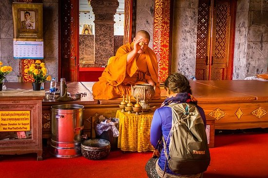 En ettermiddagsprat med en munk