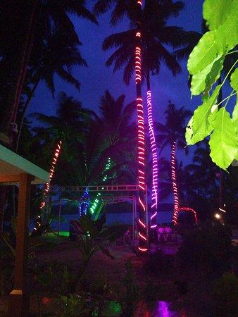 Evening in Havelock beach resort