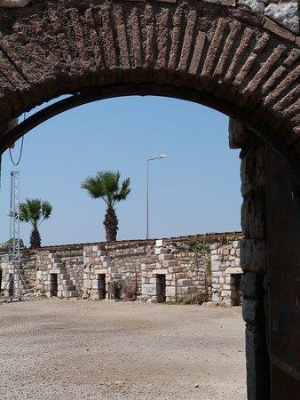 Sığacık kale içi
