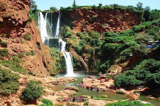 Fra Marrakech til Ouzoud Waterfalls...