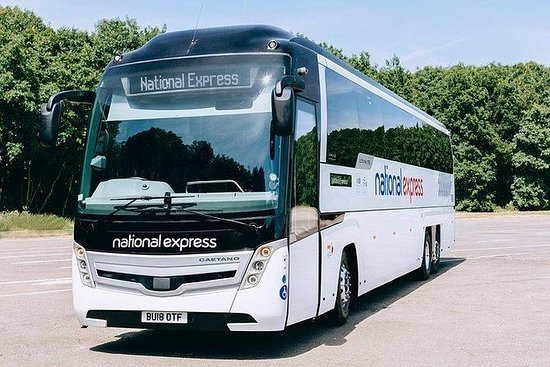 National Express   Stansted Airport to London Liverpool Street (Single): STN - LON LIV   Stansted Airport to London Liverpool Street Single Bus Transfer