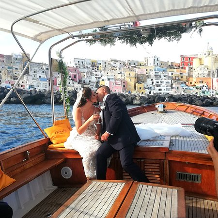 Wedding on board
