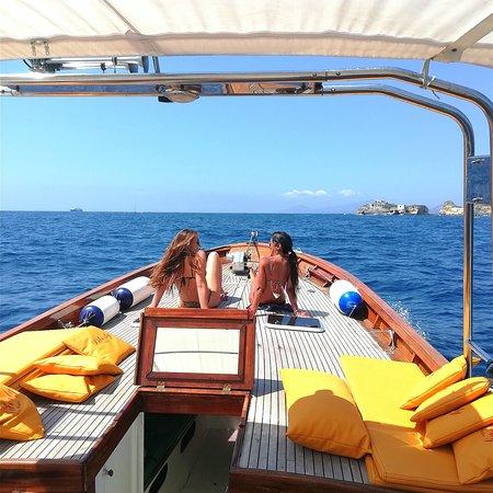 It's a confortable boat