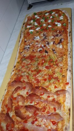 Lunamatrona, Italia: MetroPizza