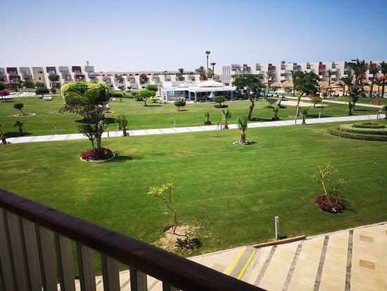 Vom Balkon aus unserem Zimmer