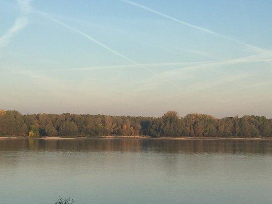 Harta, Ungarn: Danube ... in the morning light