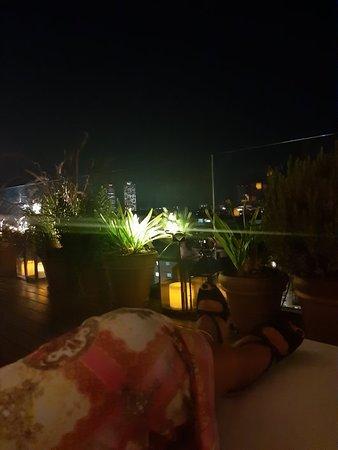 The barcelona edition rooftop bar