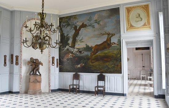 Le Bourg-Saint-Leonard, Fransa: Hall d'honneur du château.