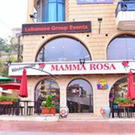 Restaurant & Pizzeria Mamma Rosa . Main street Aley