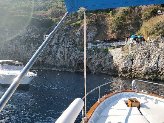 Blue Lizard Capri Boat Tour Picture