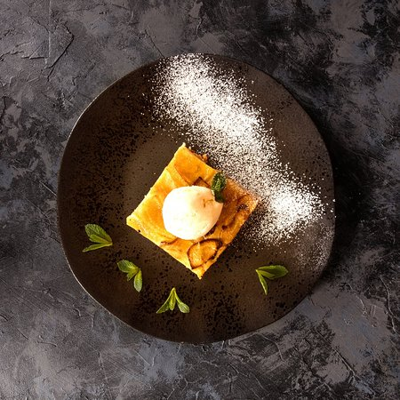 We always have a selection of delicious desserts, all made in our own kitchen.