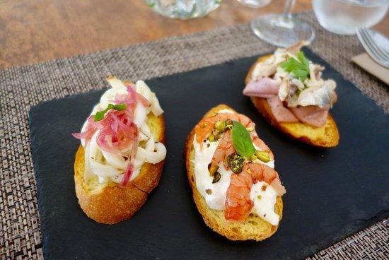 Tris di Bruschette Gourmet!