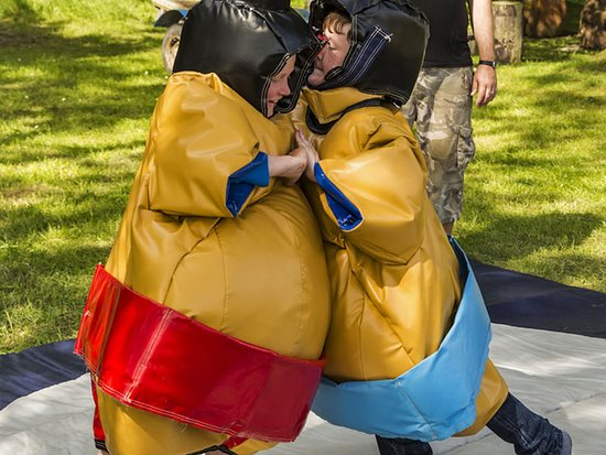 Acting Paintball: Sumo