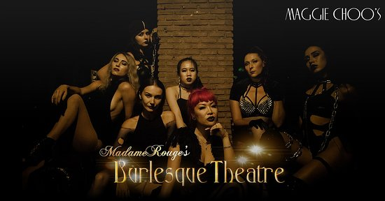 💋💋MADAME ROUGE'S BURLESQUE THEATRE💋💋 Let us bring you back to the age of old Hollywood glamour and seduce you with the art of the tease. This will be the sexiest and most intimate variety show Bangkok has ever seen.   Wednesday Night at Maggie Choo's  🎟 Tickets: 300THB includes 1 drink Starts: 8:00pm  https://www.facebook.com/events/2036394356669712/