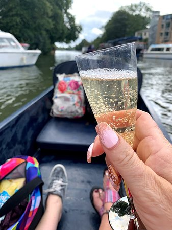 Cheers to a trip on the river