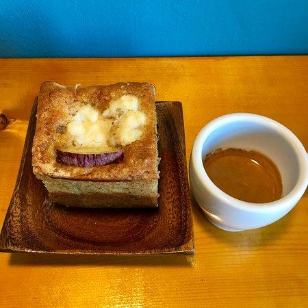 Sweet potato cake.
