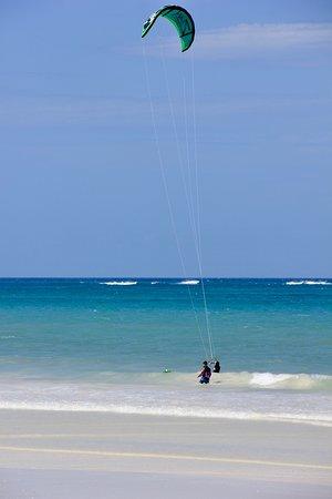 Kitesurfen 4-daagse beginnerscursus (groep, 2: 1): not really crowed - a dream