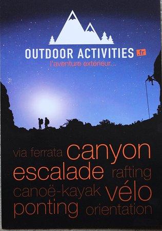 Le flyer de Outdoor Activities