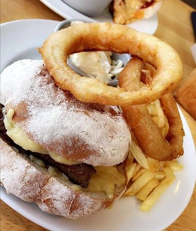 Supersize onion rings!