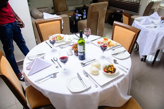 Restaurant Set up