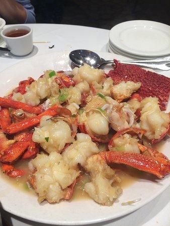 Burwood, أستراليا: Lobster