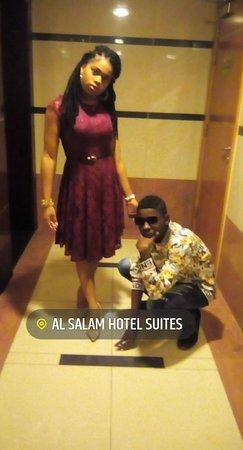 Al Salam Hotel Suites: Beautiful hotel 😍😍 😍