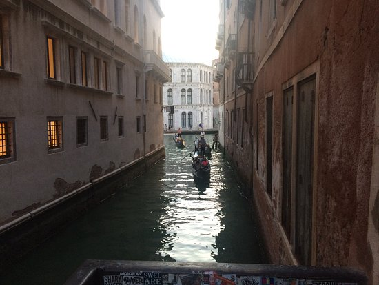 Taking a gondola ride through the canals of Venice is an unforgettable experience.