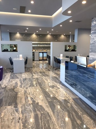 Скай Экспресс Эйрлайн: Sky Express Lounge at Heraklion Airport.