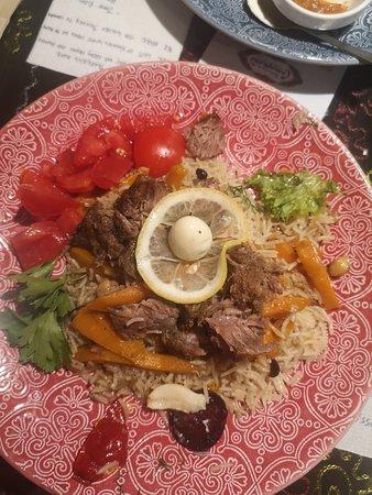 Chaykhana Samarkand: Jagnięcina z ryżem