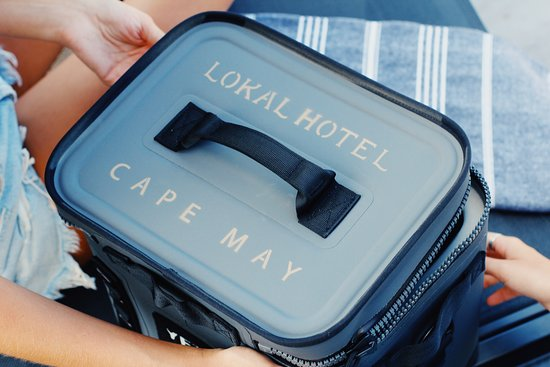 Lokal Hotel - Cape May: Yeti travel coolers and ice packs are included in all rooms.